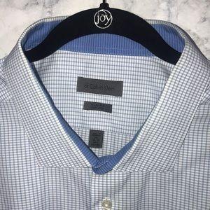 Calvin Klein Men's dress shirt size 20neck no iron